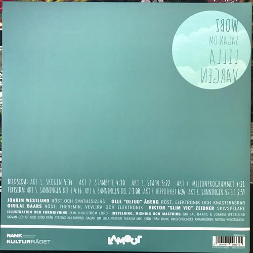 WOBZ Sagan om Lilla Vargen (Lamour - Sweden original) (NEW) LP+CD