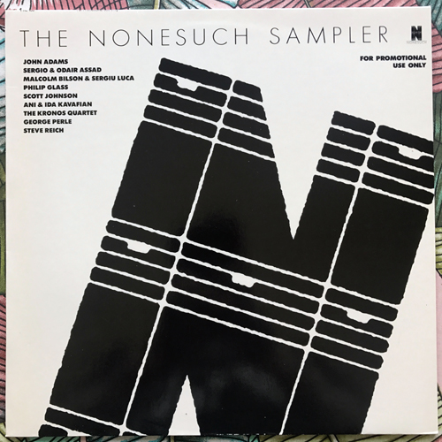 VARIOUS The Nonesuch Sampler (Promo) (Nonesuch - Germany original) (EX/NM) LP