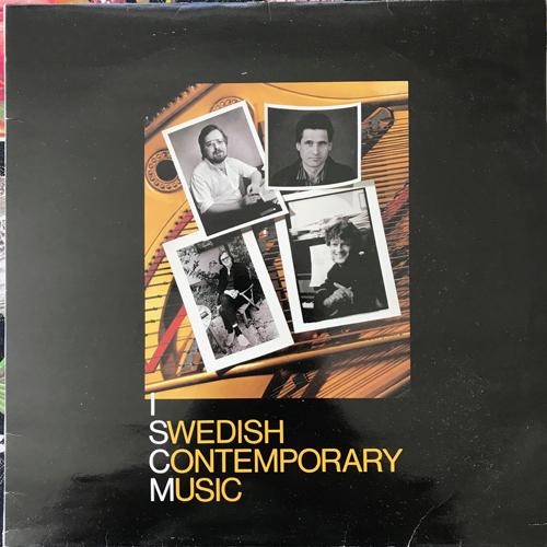 VARIOUS Swedish Contemporary Music (Fylkingen - Sweden original) (VG+/EX) LP