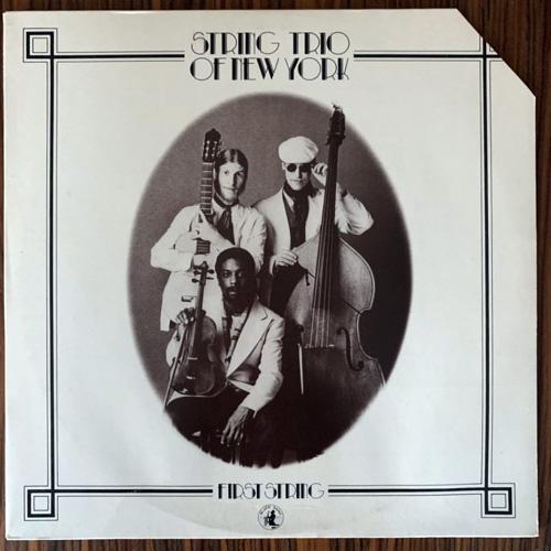 STRING TRIO OF NEW YORK First String (Black Saint - Italy original) (VG/EX) LP