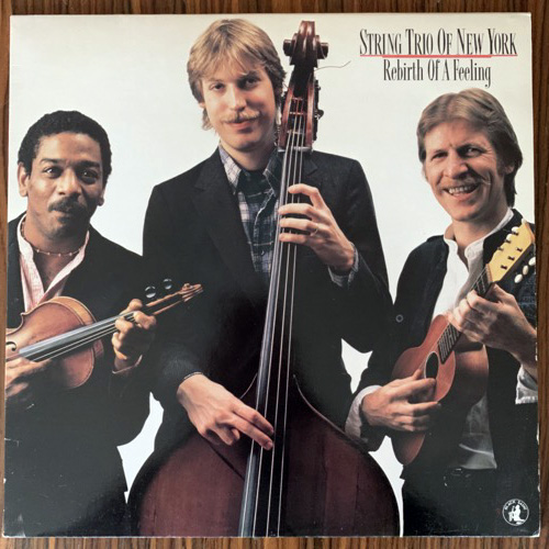 STRING TRIO OF NEW YORK Rebirth Of A Feeling (Black Saint - Italy original) (EX/NM) LP