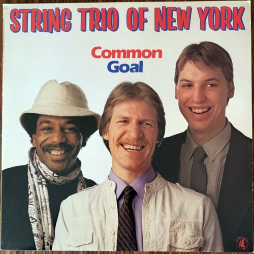 STRING TRIO OF NEW YORK Common Goal (Black Saint - Italy original) (EX/NM) LP