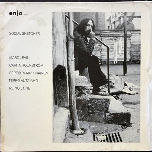 MARC LEVIN Social Sketches (Enja - Germany original) (VG/VG+) LP