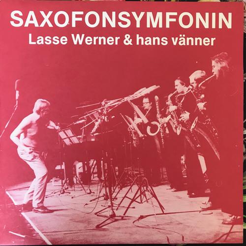 LASSE WERNER & HANS VÄNNER Saxofonsymfonin (Dragon - Sweden original) (EX) LP