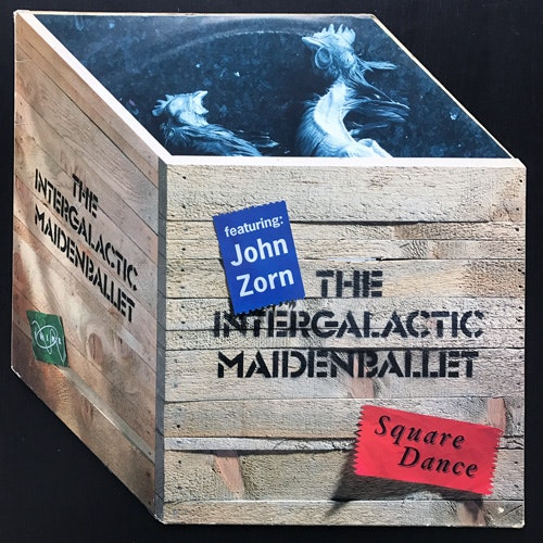 INTERGALACTIC MAIDEN BALLET, the Featuring JOHN ZORN Square Dance (Tiptoe - Germany original) (VG+) LP