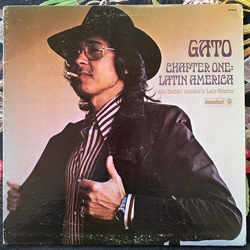 GATO BARBIERI Chapter One: Latin America (Impulse - USA original) (VG/VG+) LP