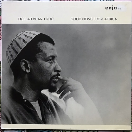 DOLLAR BRAND DUO Good News From Africa (Enja - Germany reissue) (VG+/EX) LP
