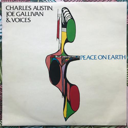 CHARLES AUSTIN, JOE GALLIVAN & VOICES Peace On Earth (Promo) (Compendium - Norway original) (VG+/VG) LP