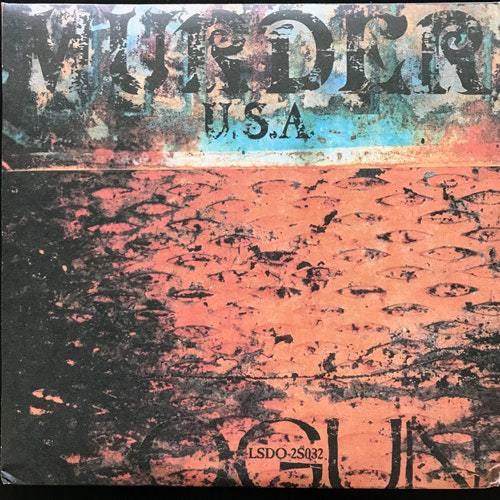 SLOGUN Murder U.S.A. (Grey and brown vinyl) (L.S.D. Organisation - USA original) (EX/NM) 2x7""