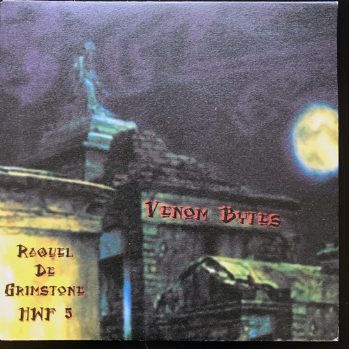 "RAQUEL DE GRIMSTONE Venom Bytes (The Homewrecker Foundation - Switzerland original) (EX) 7"""