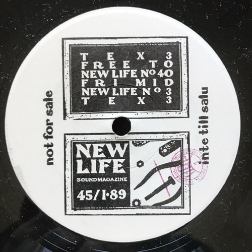 PANKOW (Π) ‎Wet (Promo) (Contempt - Italy original) (EX) 7""
