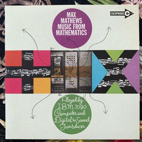"MAX MATHEWS Music From Mathematics (Cacophonic - UK original) (NM/EX) 7"""