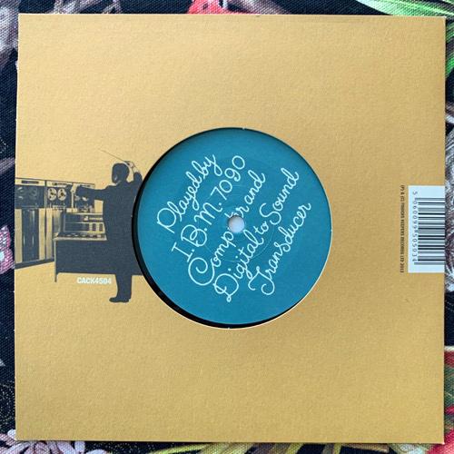 "JOHN ROBINSON PIERCE Music From Mathematics (Cacophonic - UK original) (EX) 7"""