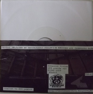 HIROSHI HASEGAWA/POSITIVE ADJUSTMENTS Hit the White Lights (Ikebukuro Dada - France original) (NEW) 7""