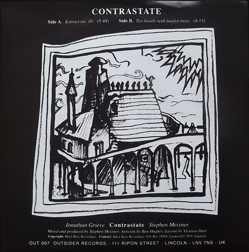 CONTRASTATE Extract No. 10 (Outsider - UK original) (EX/NM) 7""