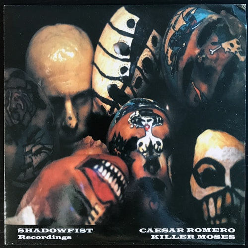 CAESAR ROMERO/KILLER MOSES Split (Shadowfist - UK original) (VG+/EX) 7""