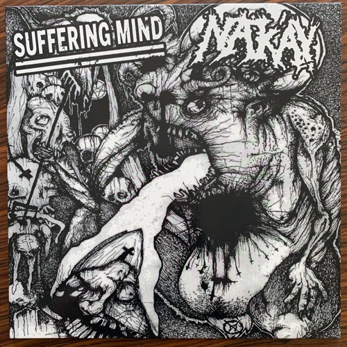 SUFFERING MIND/NAK'AY Split (Splatter vinyl) (Fat Ass - Poland original) (NM) LP