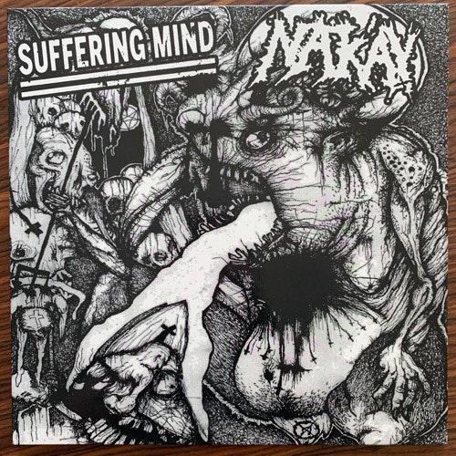SUFFERING MIND/NAK'AY Split (Splatter vinyl) (Fat Ass - Poland original) (NM) LP