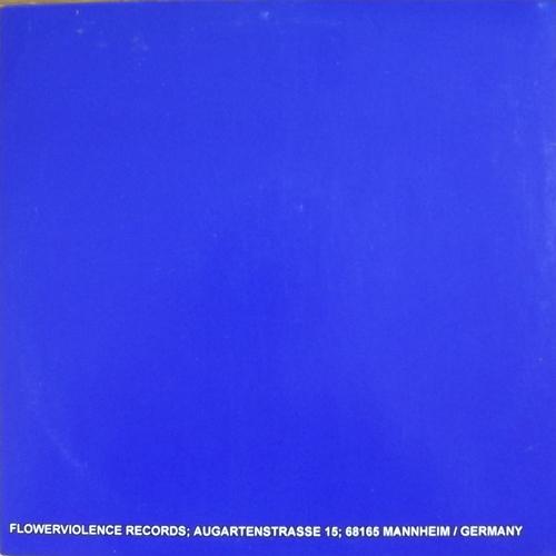 "PRONE Prone (Blue vinyl) (Flowerviolence - Germany original) (VG+/EX) 10"""
