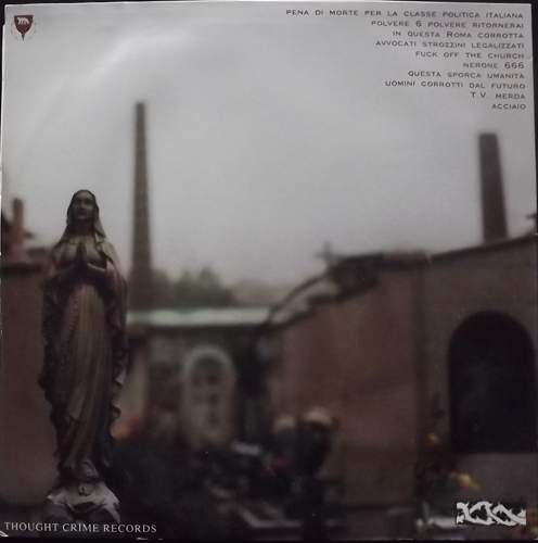 LOS VATICANOS Nerone 666 (Thought Crime - Italy original) (VG/VG+) LP