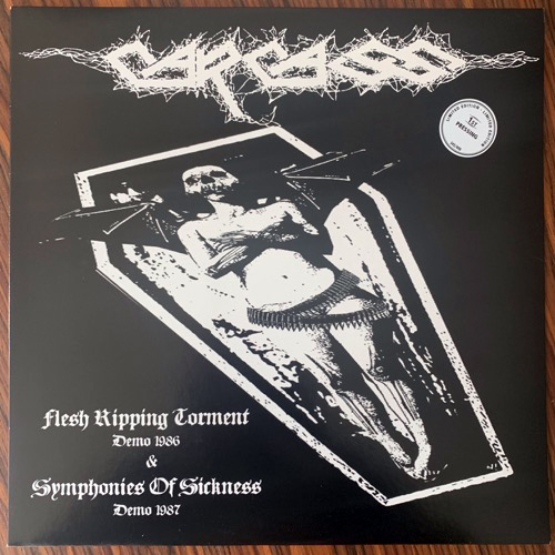 CARCASS Flesh Ripping Torment & Symphonies Of Sickness (No label - Germany unofficial release) (EX) LP