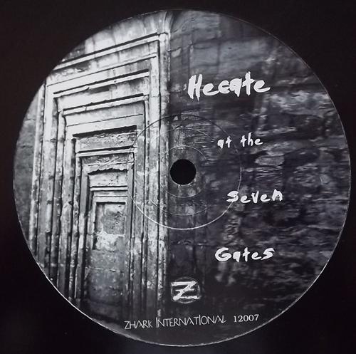 "HECATE At The Seven Gates (Zhark - UK original) (EX) 12"""