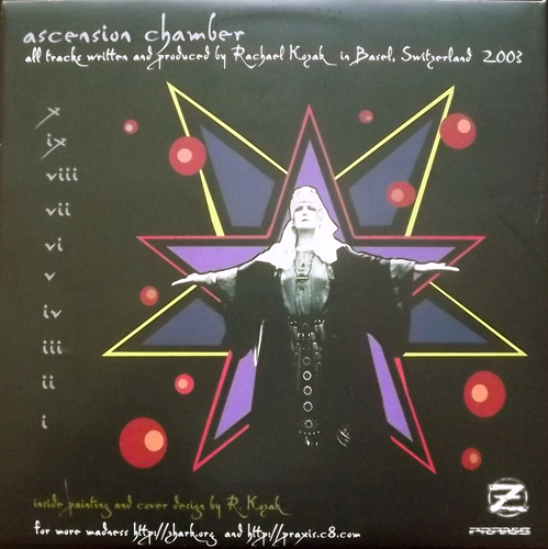 HECATE Ascension Chamber (Zhark - Switzerland original) (EX) 2LP