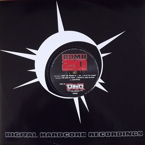 "BOMB 20 Choice Of The Righteous (Digital Hardcore - Germany original) (EX) 12"" EP"