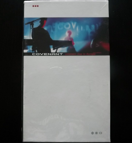 COVENANT Synergy: Live In Europe (Dependent - Germany original) (SS) VHS+CD BOX