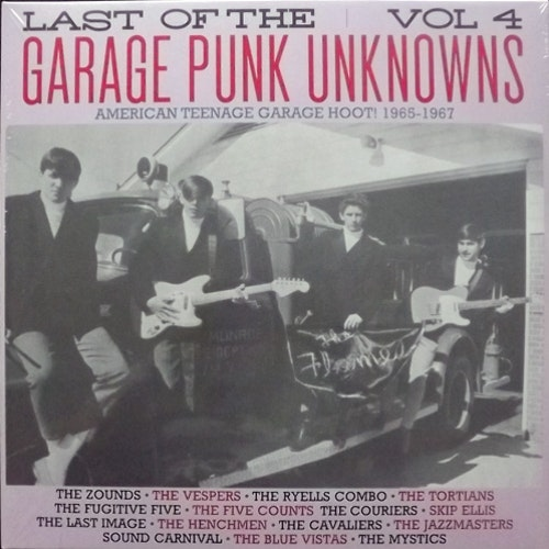 VARIOUS Last Of The Garage Punk Unknowns Vol 4 (American Teenage Garage Hoot! 1965-1967) (Crypt - Germany original) (NEW) LP