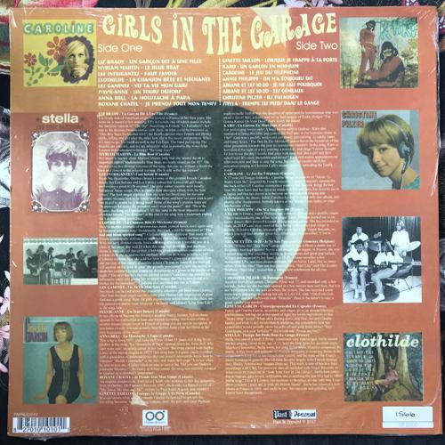 VARIOUS Girls In The Garage Volume 10 - Groovy Gallic Gals! (Past & Present - Europe reissue) (NEW) LP