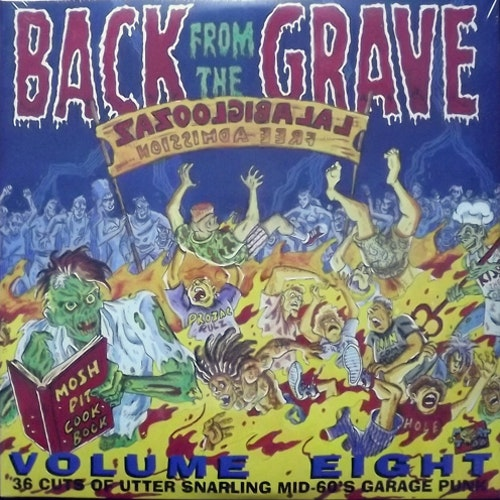 VARIOUS Back From The Grave Volume 8 (Crypt - Germany reissue) (NEW) 2LP
