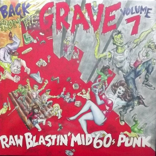 VARIOUS Back From The Grave Volume 7 (Crypt - Germany reissue) (NEW) 2LP