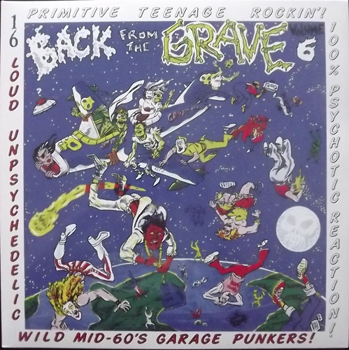 VARIOUS Back From The Grave Volume 6 (Crypt - Germany reissue) (NEW) LP