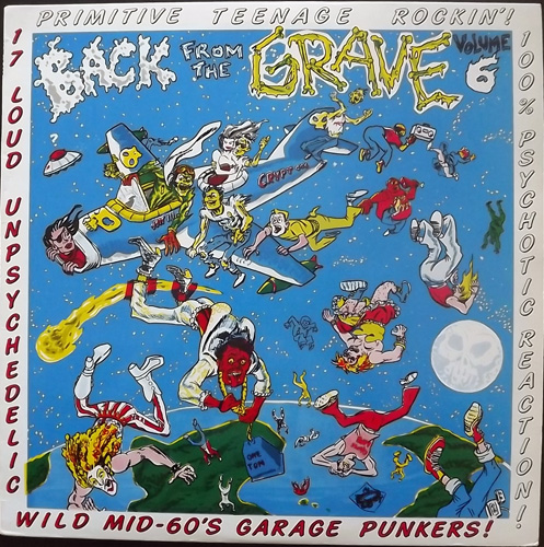 VARIOUS Back From The Grave Volume 6 (Crypt - USA original) (EX/VG) LP