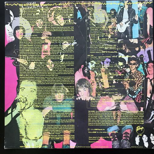 VARIOUS The Best Of Bomp - Volume One (Bomp! - USA original) (EX) LP