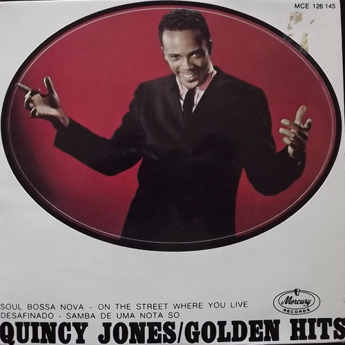 QUINCY JONES Golden Hits (Mercury - Sweden original) (VG+/VG) 7""