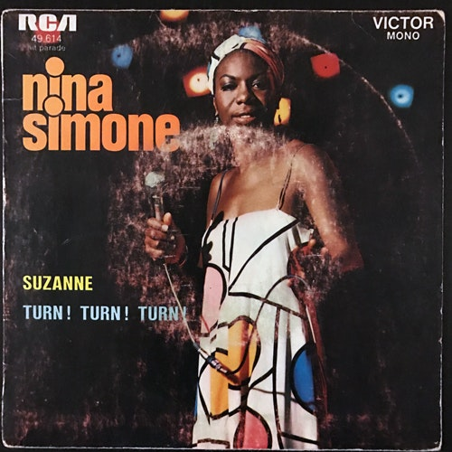 "NINA SIMONE Suzanne (RCA - France original) (G/VG) 7"""