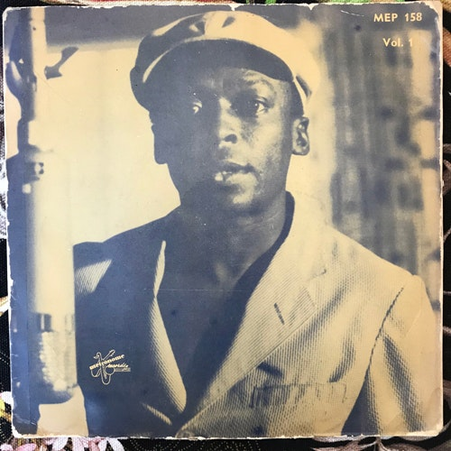 "MILES DAVIS QUARTET The Musings Of Miles Vol. 1 (Metronome - Sweden original) (VG-/VG) 7"""
