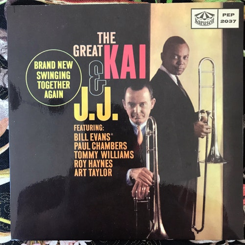 """GREAT KAI AND J.J., the The Great Kai And J.J. (Karusell - Sweden original) (EX/VG+) 7"""""""