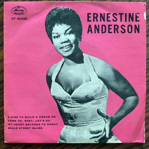"ERNESTINE ANDERSON A Kiss To Build A Dream On (Mercury - Denmark original) (VG) 7"""
