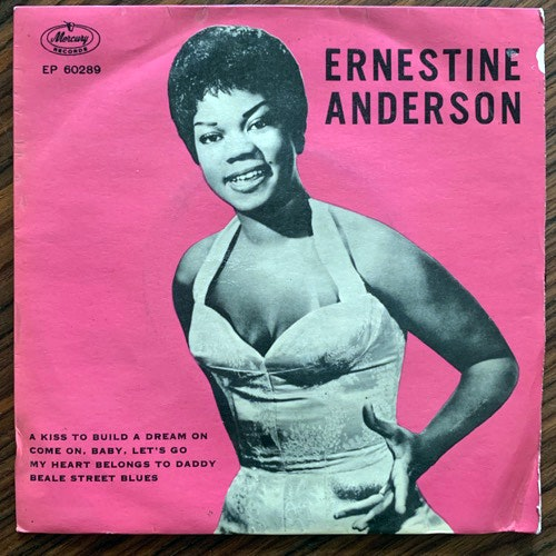 ERNESTINE ANDERSON A Kiss To Build A Dream On (Mercury - Denmark original) (VG) 7""