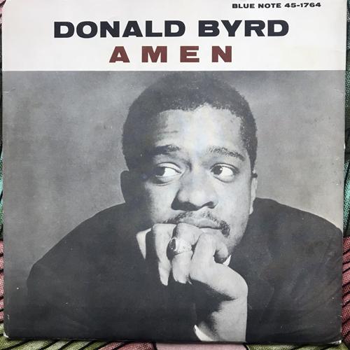 """DONALD BYRD Amen (Blue Note - Sweden original) (VG+) 7"""""""