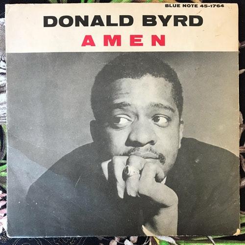 """DONALD BYRD Amen (Blue Note - Sweden original) (VG/VG-) 7"""""""