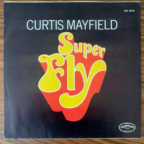 "SOUNDTRACK Curtis Mayfield – Superfly (Curtom - USA original) (VG+/VG) 7"""