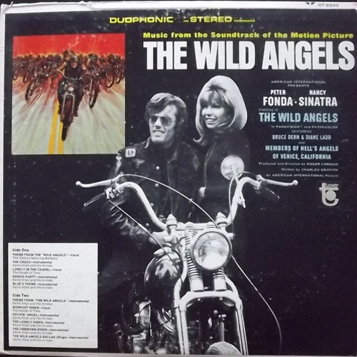 SOUNDTRACK The Wild Angels (Tower - USA original) (VG-/VG) LP