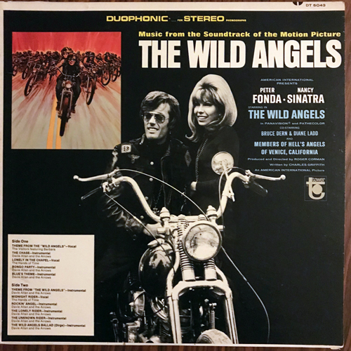 SOUNDTRACK The Wild Angels (Tower - USA original) (VG+) LP