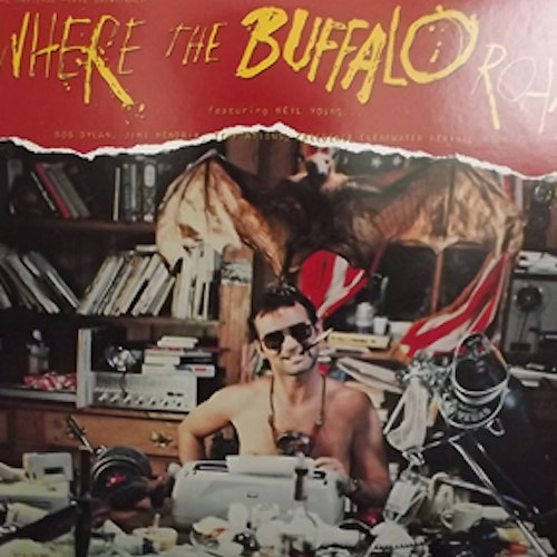 SOUNDTRACK Where The Buffalo Roam (Backstreet - USA original) (EX) LP