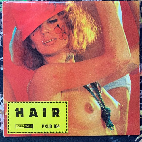 SOUNDTRACK Reddy, Sue Kramer, The Broadway Matadors ‎– Hair (Polymax - UK original) (VG+) LP