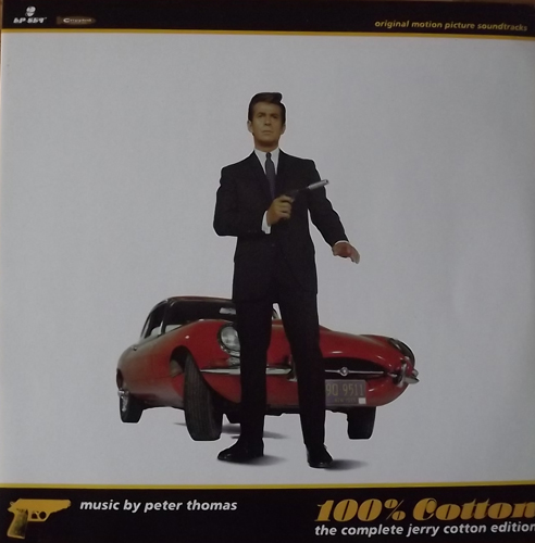 SOUNDTRACK Peter Thomas ‎– 100% Cotton (The Complete Jerry Cotton Edition) (Crippled Dick Hot Wax! - Germany original) (EX) 2LP
